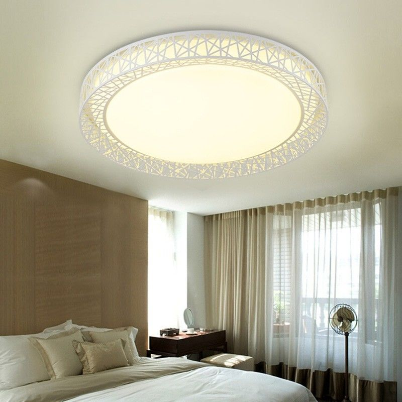 11 Inch Lounge Ceiling Downlight Surrounds 12W 3000 - 3500K Greek Style